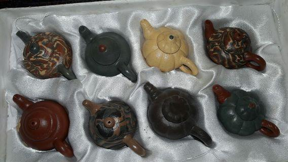 Miniature Chinese Teapots