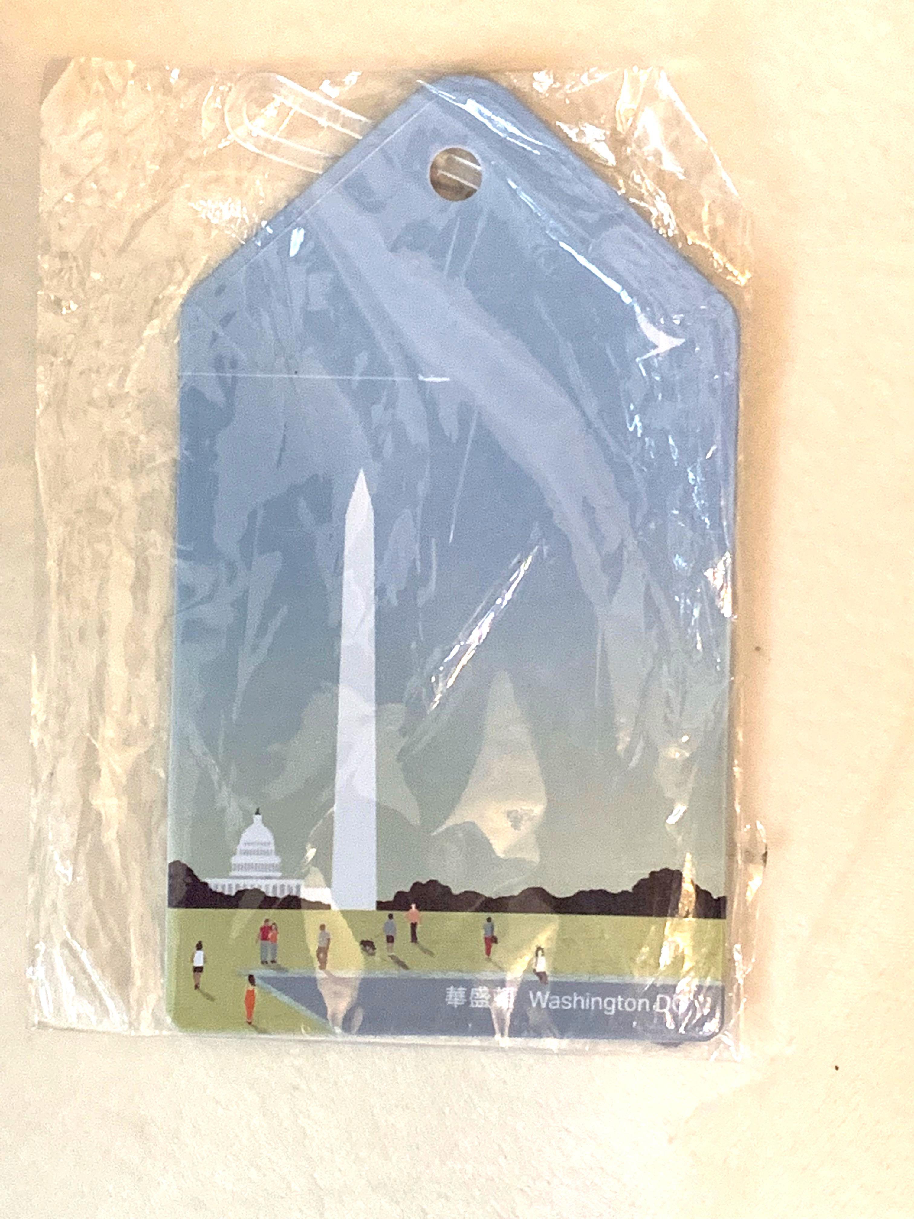《期間限定》 限量版 國泰 Cathay Pacific CX 興祝Washington 線特別版 luggage tag