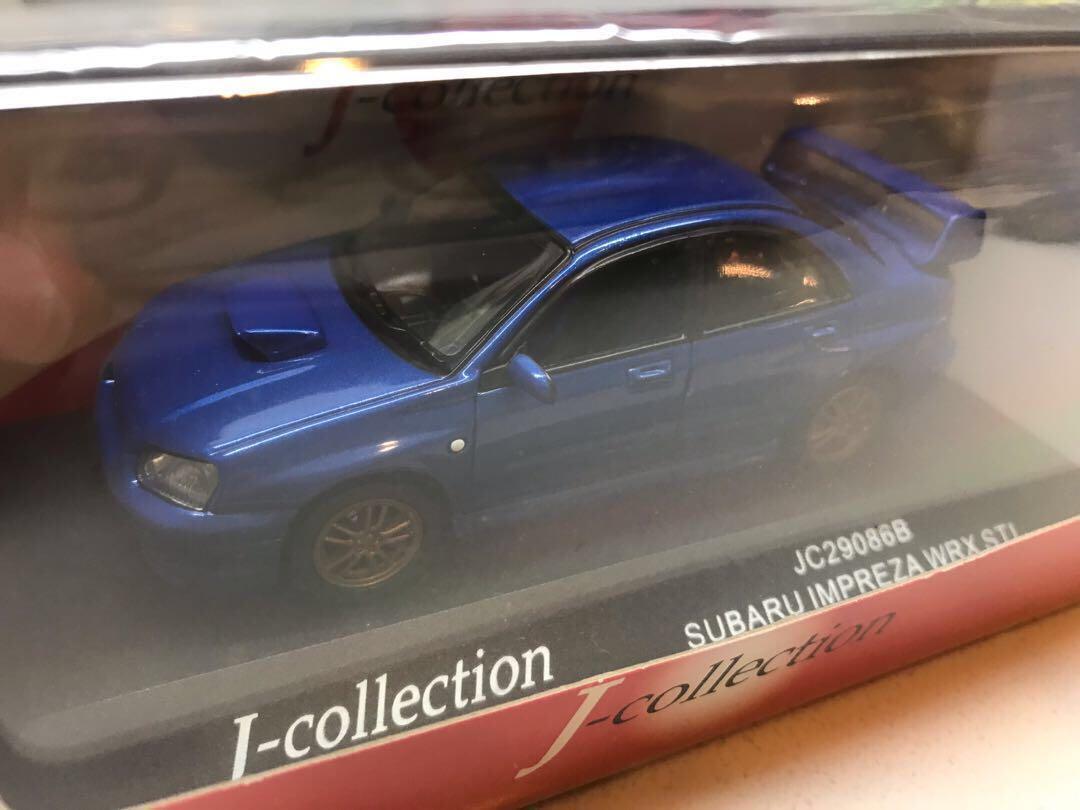 京商 Kyosho J collection Subaru Impreza WRX STI 1:43