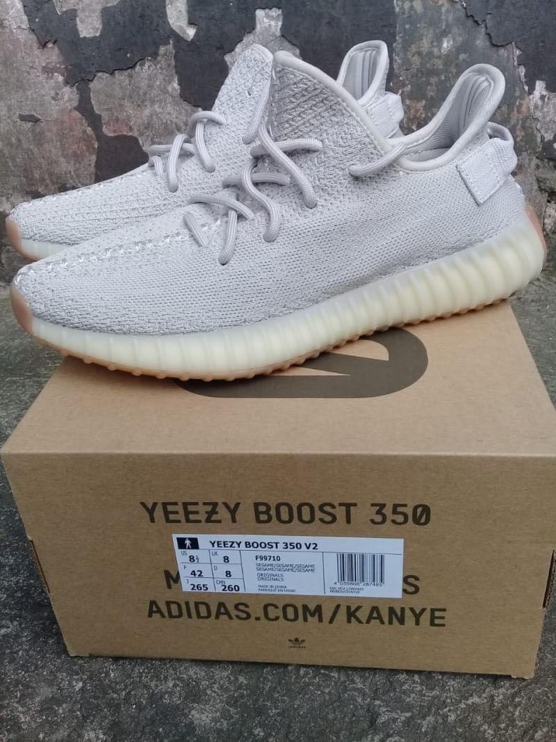 "Adidas Yeezy Boost 350 v2 Sesame ""cream"""