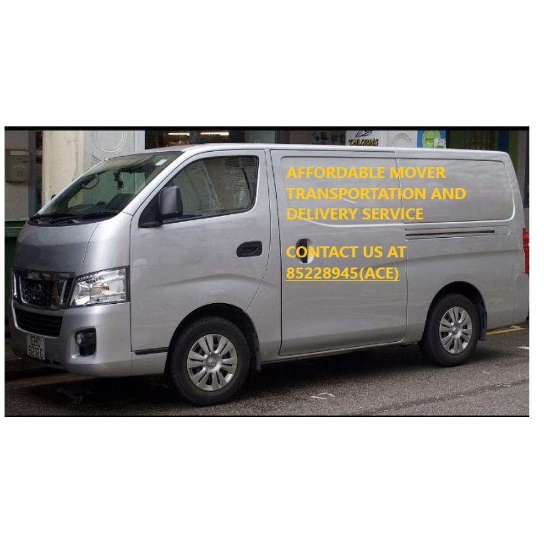Affordable Mover Transportation Delivery