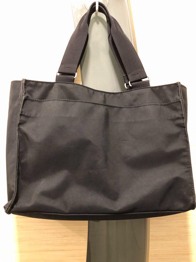 agnes b 帆布手袋 handbag