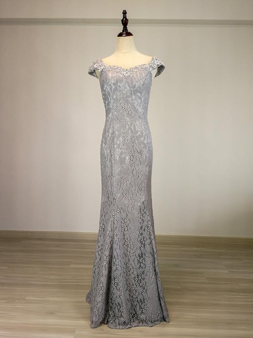 Allure Alley Lace Evening gown (Rental), Women's Fashion