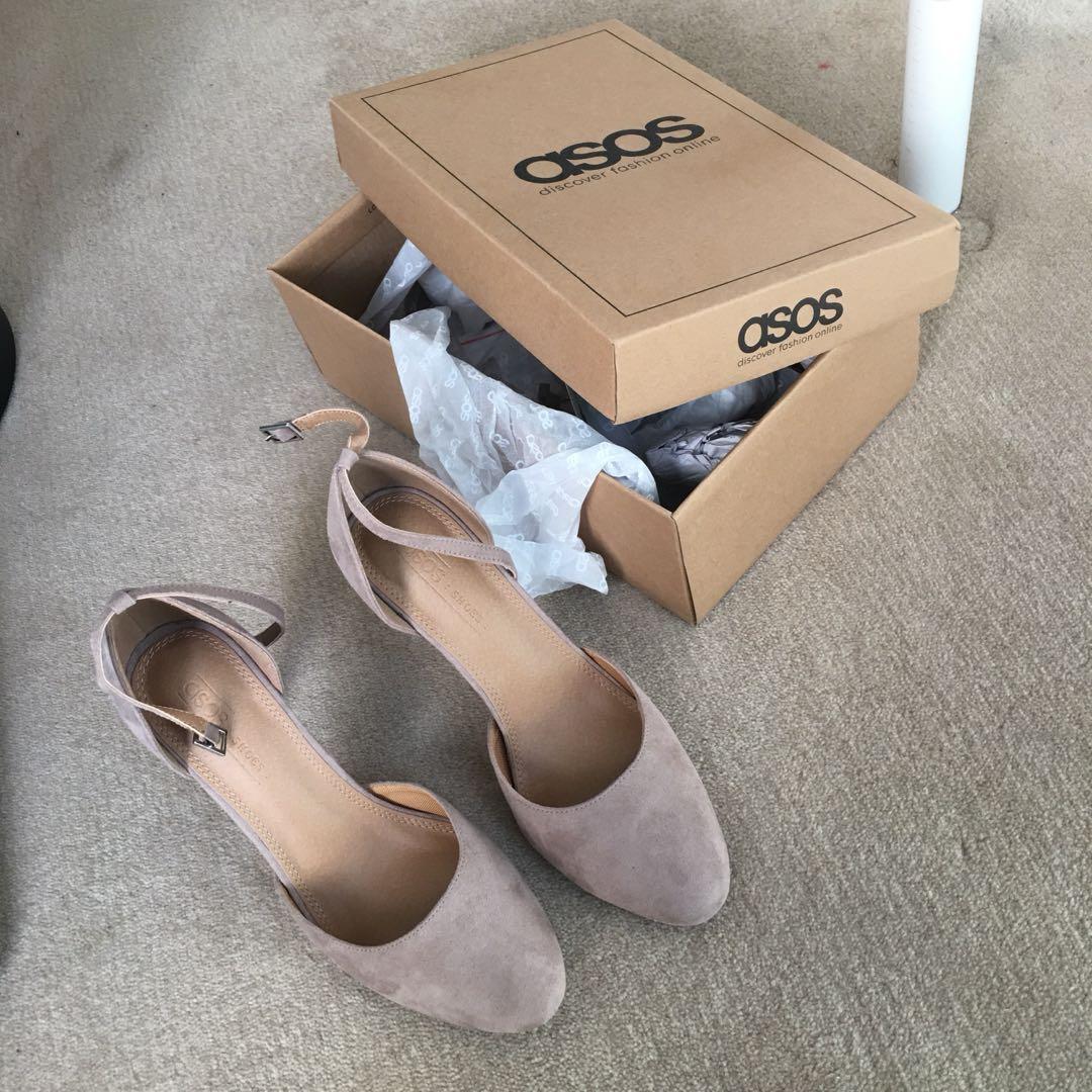 ASOS Taupe heels