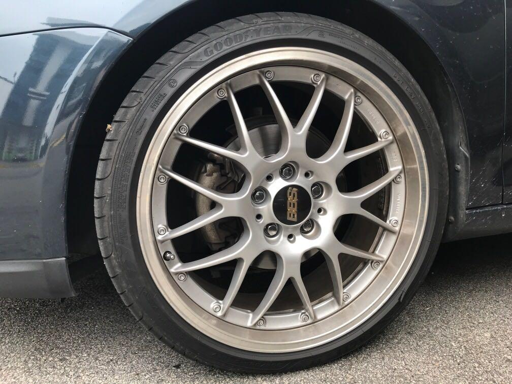BBS RS-GT 19x8 5 5x112, Car Accessories, Tyres & Rims on
