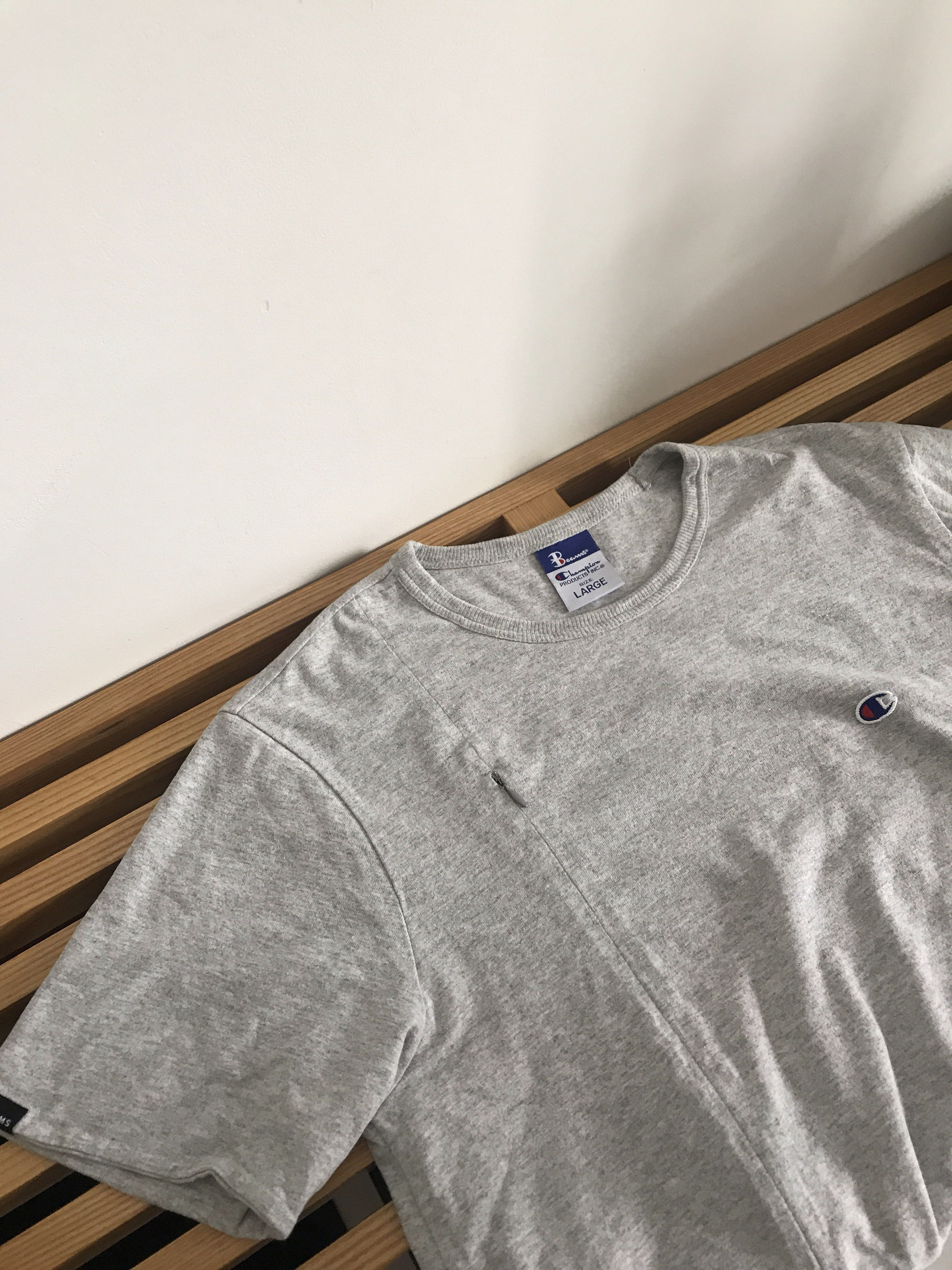 0fce0cf10275 BEAMS JAPAN CHAMPION REVERSE WEAVE L, Men's Fashion, Clothes, Tops on  Carousell