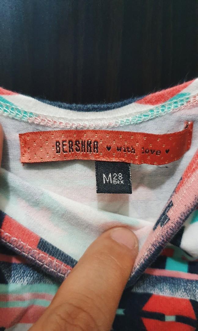 BERSHKA bodycon dress