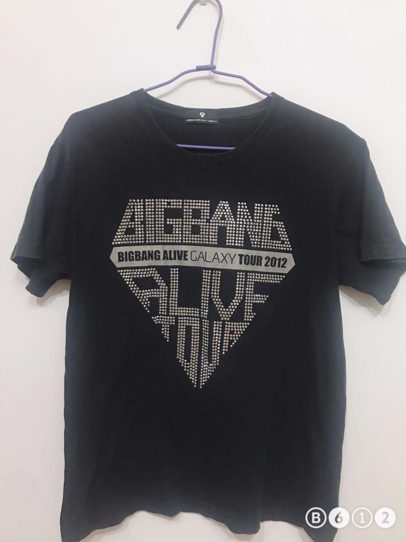 BIGBANG 2012 Alive Tour logo T-恤 (CK、AX、AF、polo)可參考 原價1450