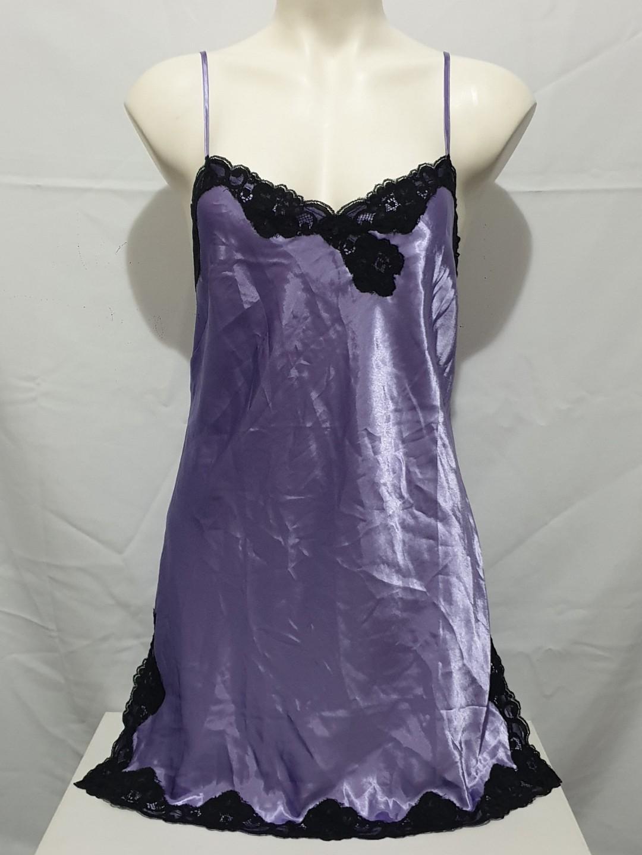 Bnwt La Senza (M/10-12) satin lingerie dress