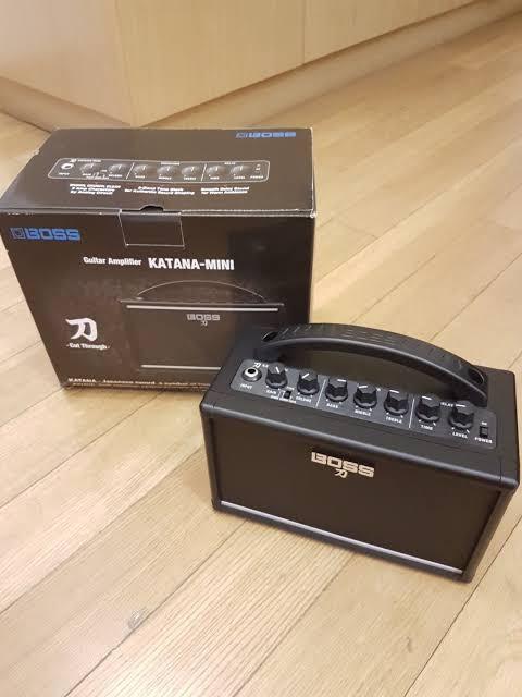 Boss katana mini 7 inch guitar amplifier
