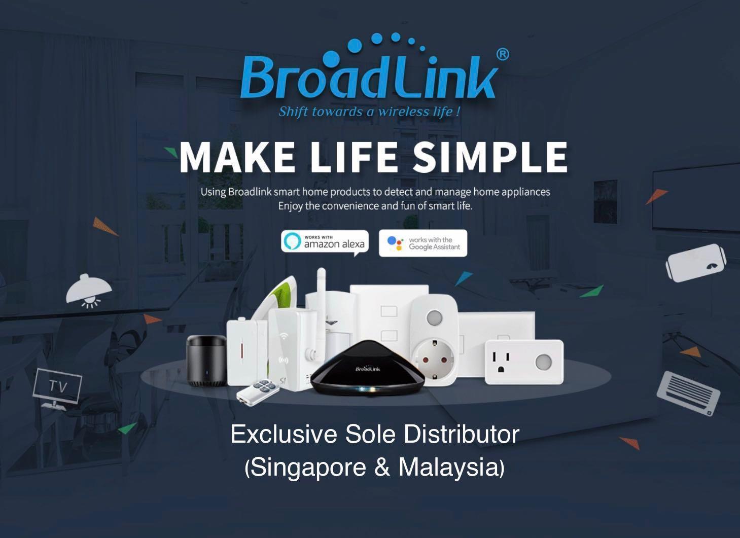 Broadlink Smart Home Automation Products, Electronics
