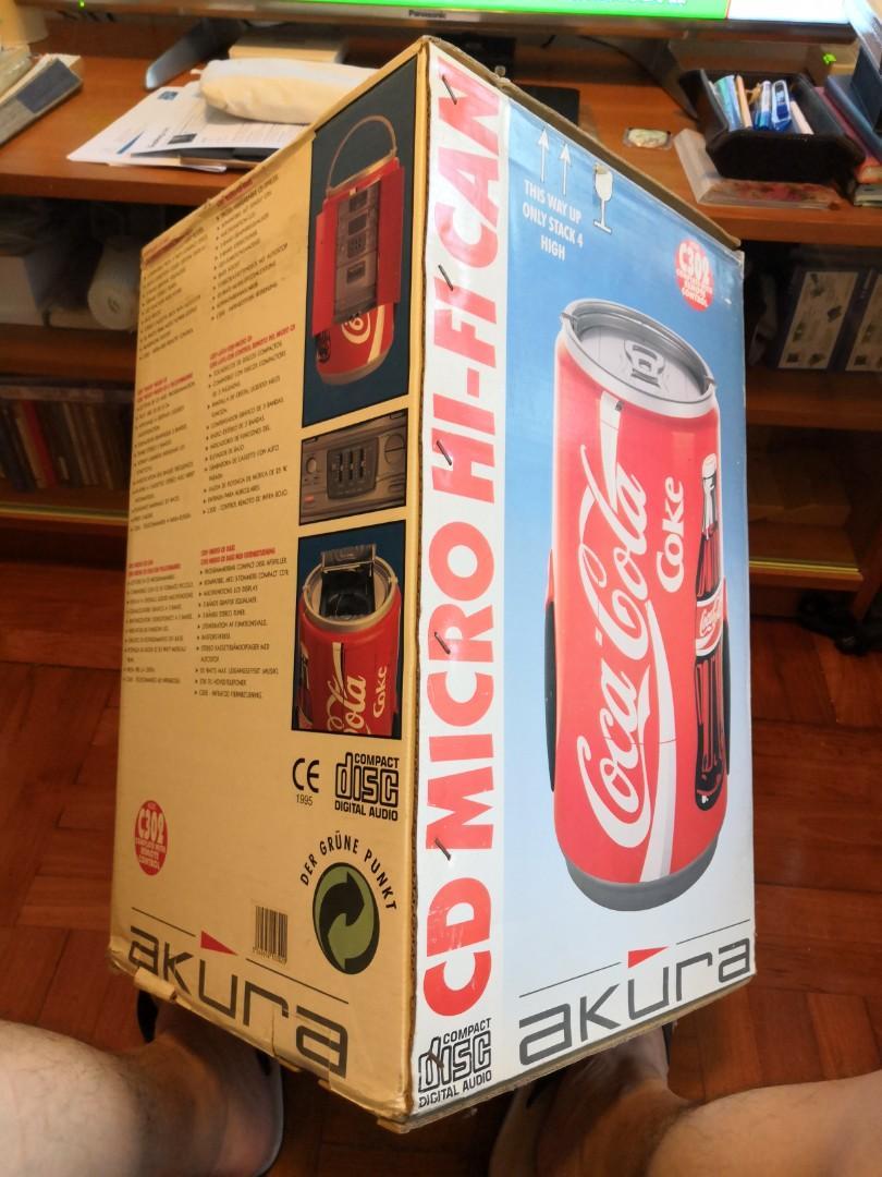 可樂CD收音機唱機