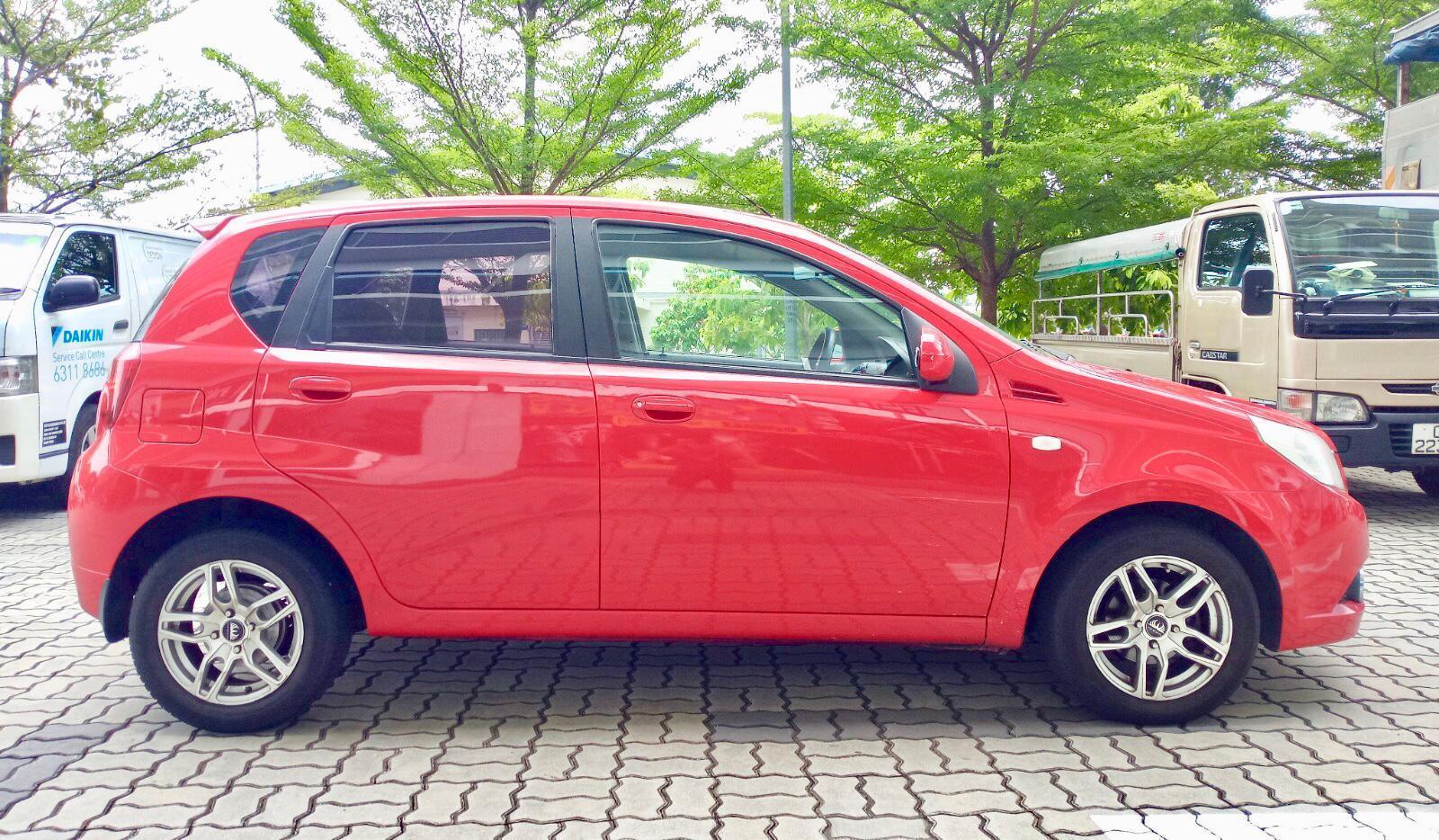 Chevrolet AVEO 1.4A hatchback Grab Gojek Ryde Tada & Non PHV Car Rental Services in Singapore!