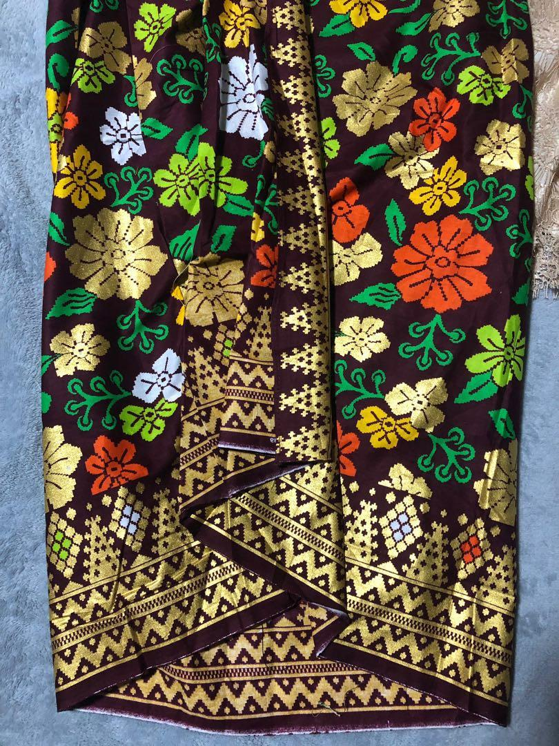 Clearance Lace Kebaya batik girl hari raya clothes