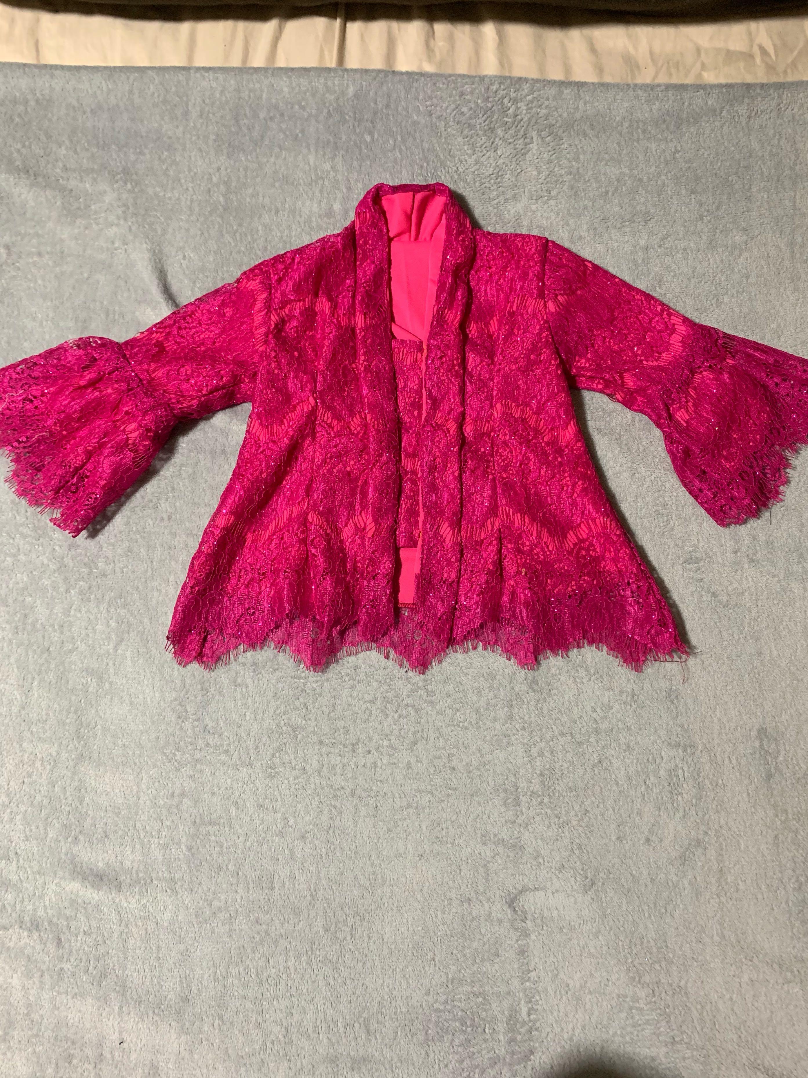 Clearance Lace Kebaya Nyonya girl top ony hari raya clothes