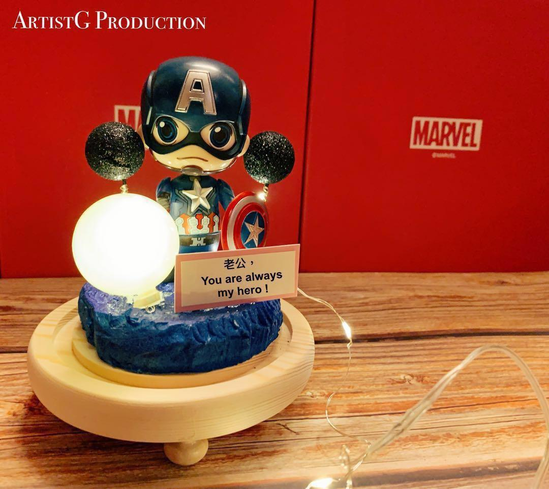 Customised Marvel Avengers Father's day gift (limited production) Ironman captain America