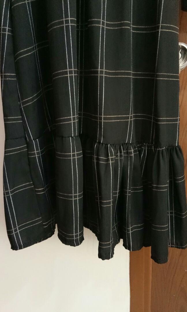 Dress Panjang Korea