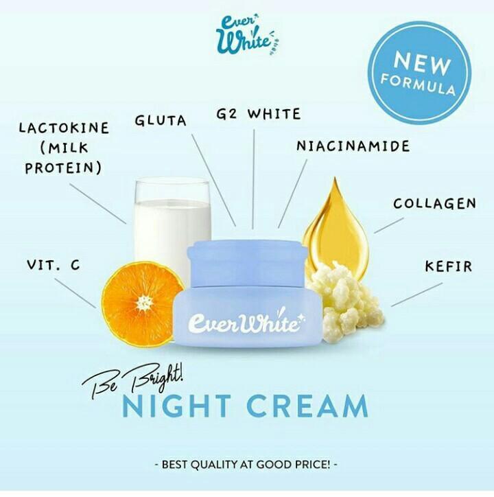 Everwhite 210k (night and day cream)