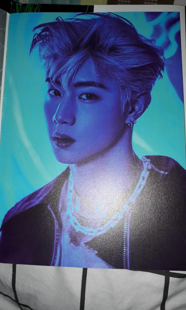 GOT7 SPINNING TOP ALBUM PAGE MARK COVER YOUNGJAE