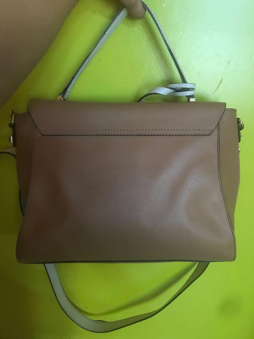 GUESS NUDE - WHITE BAG