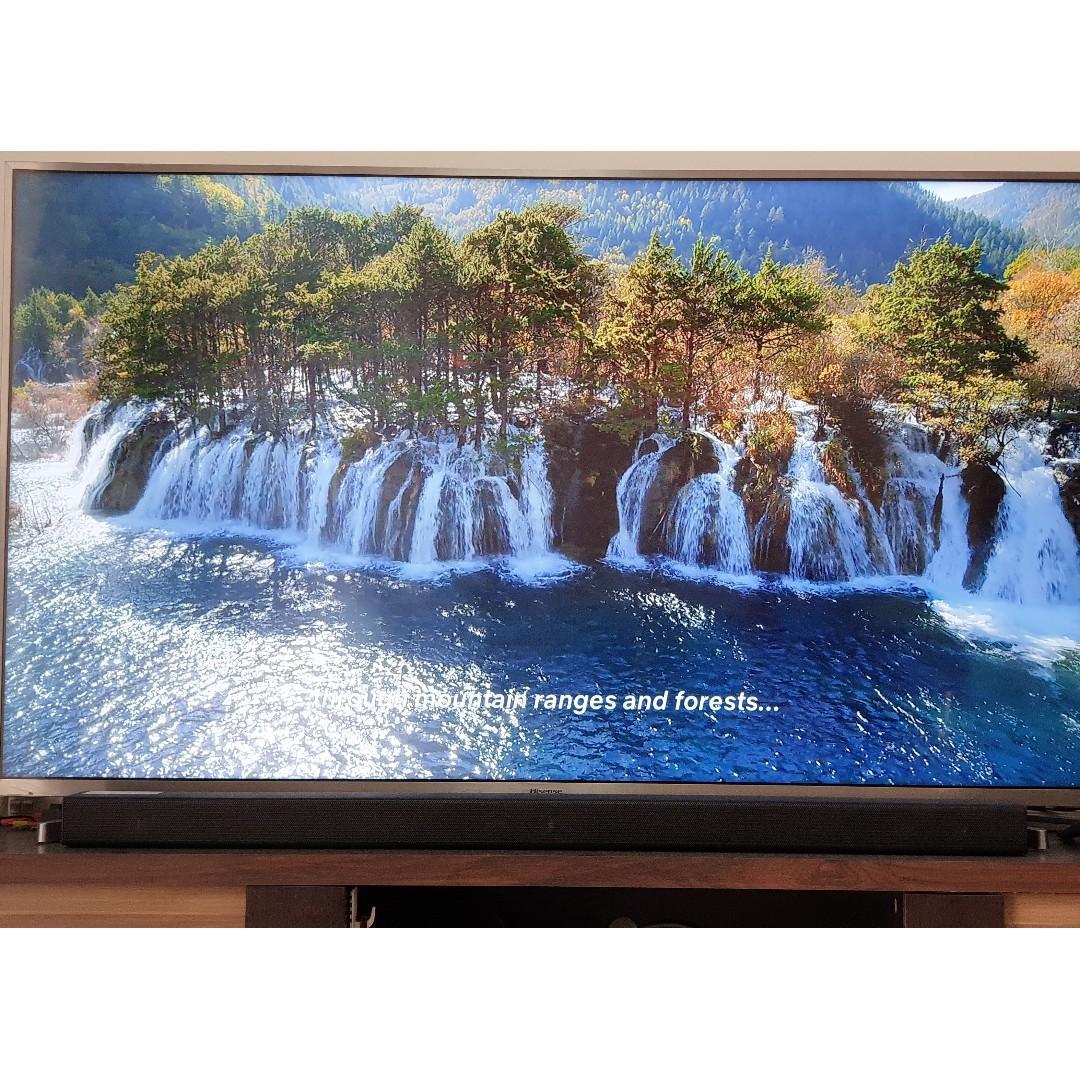 Hisense - 55 Inch Smart LED TV (2018 Model), Home Appliances