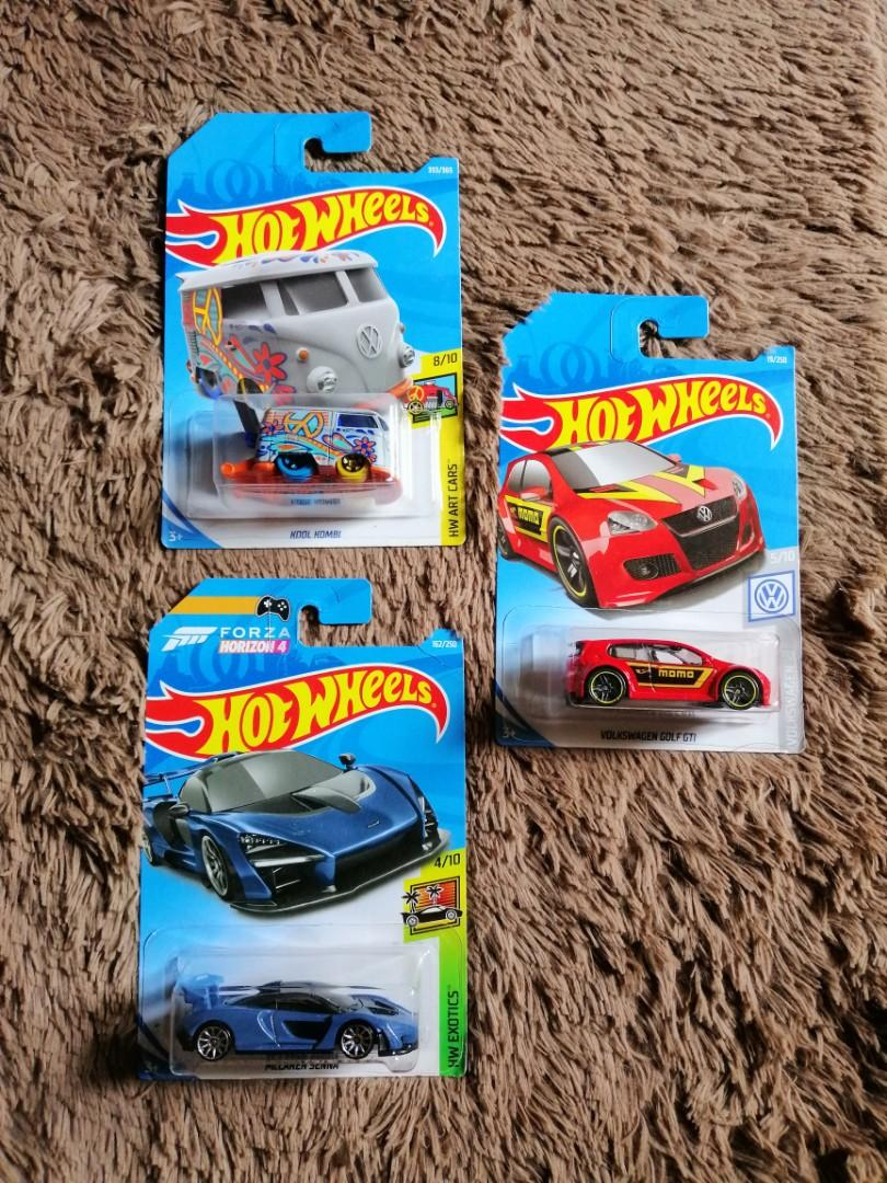 Hot Wheels paket 3pcs