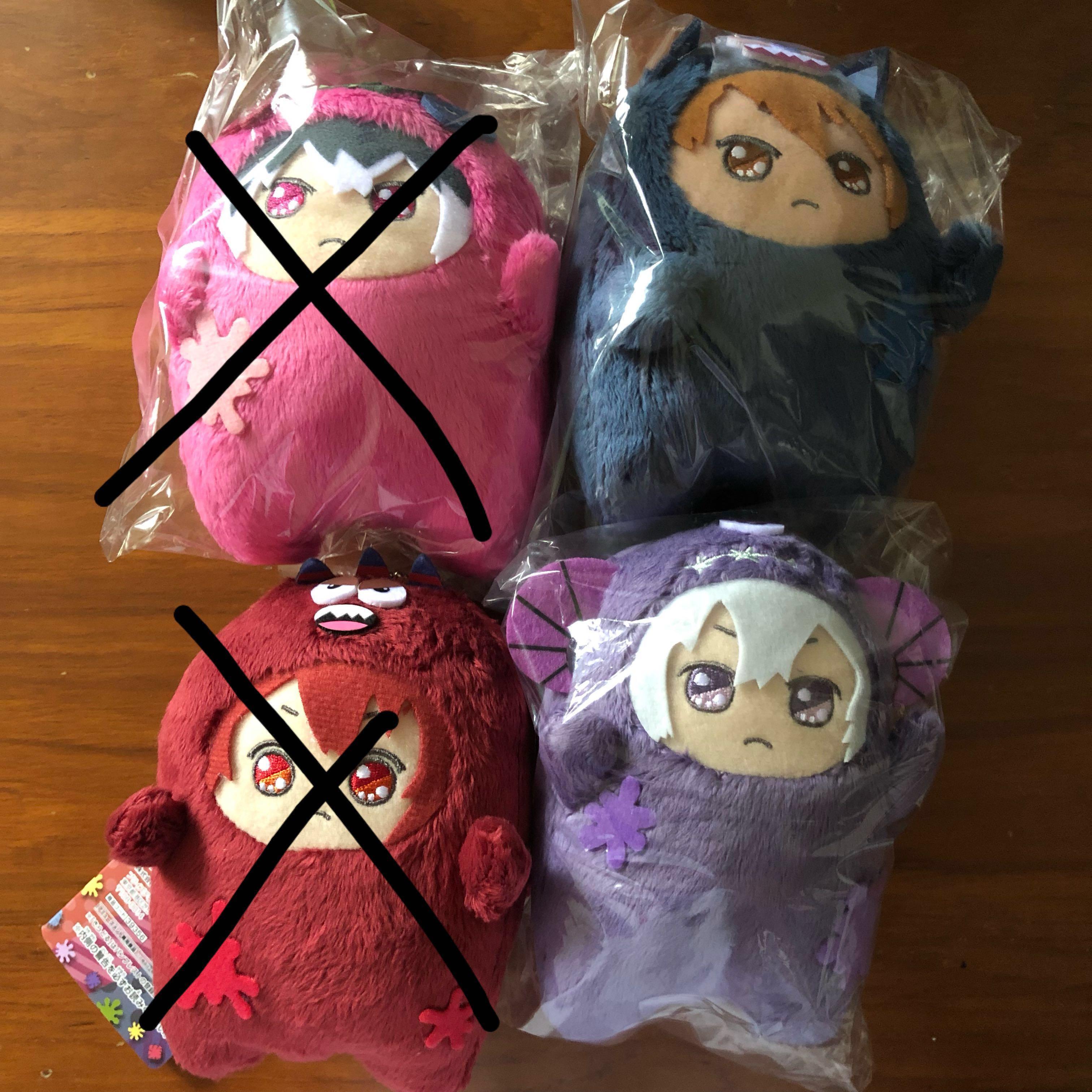 (All Sold) Idolish7 Warui Monster Parade Plush