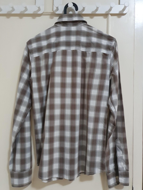Kemeja Levi's Plaid Shirt
