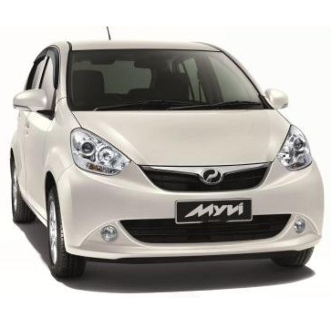 Kereta Sewa Myvi 1.3 Car Rental Petaling Jaya Sunway