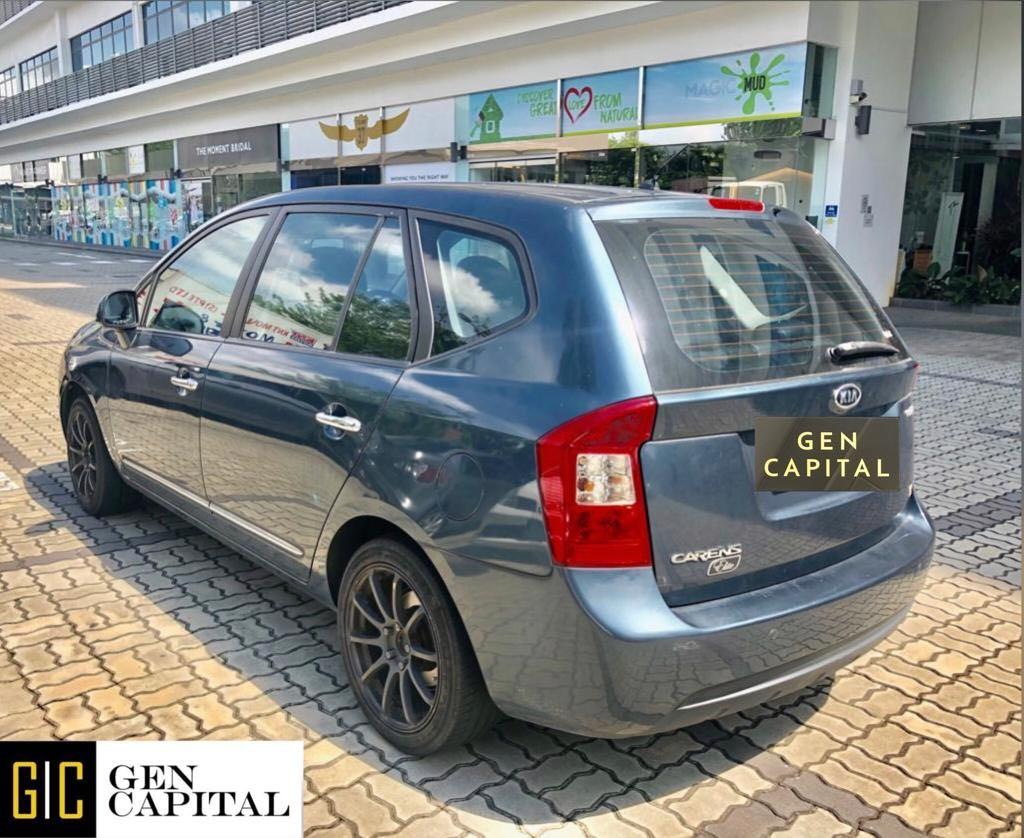 Kia Carens MPV Full Size Grab Gojek Ryde Tada & Non PHV Car Rental Services in Singapore!