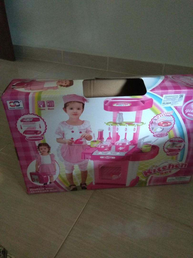 Kitchen Set Mainan Anak/Masak masakan