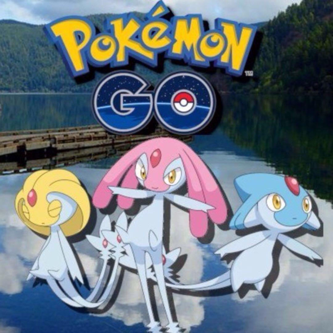 Legendary Lake Trio Pokemon Go Account AZELF MESPRIT UXIE