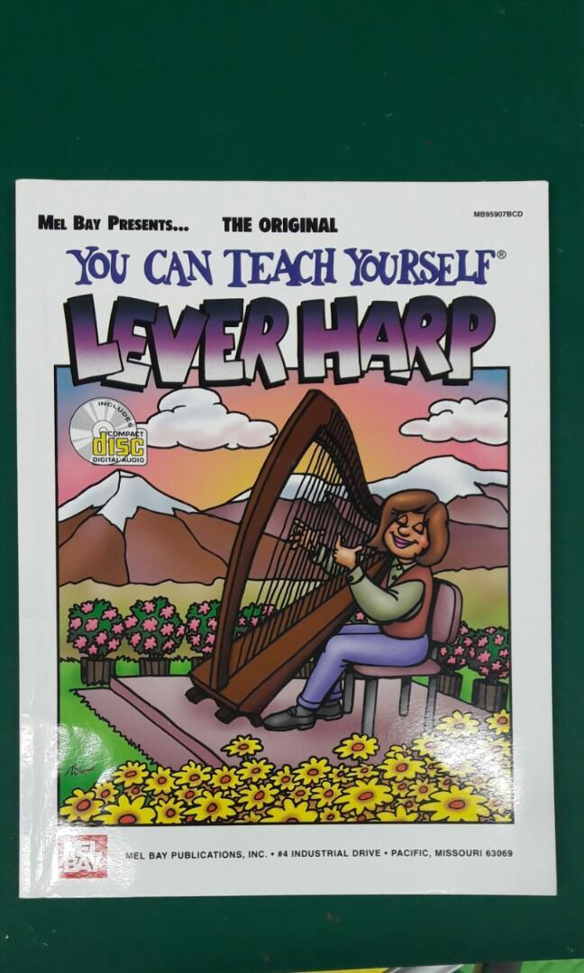 Lever Harp 豎琴 琴譜