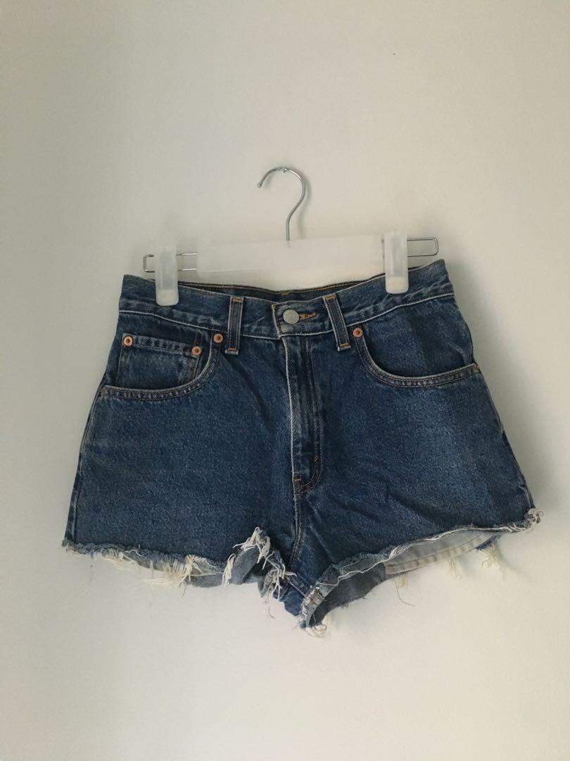 Levi's jean shorts: 550 (relaxed fit)