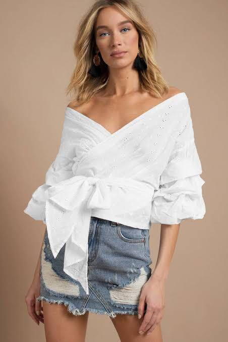 Lioness wrap top
