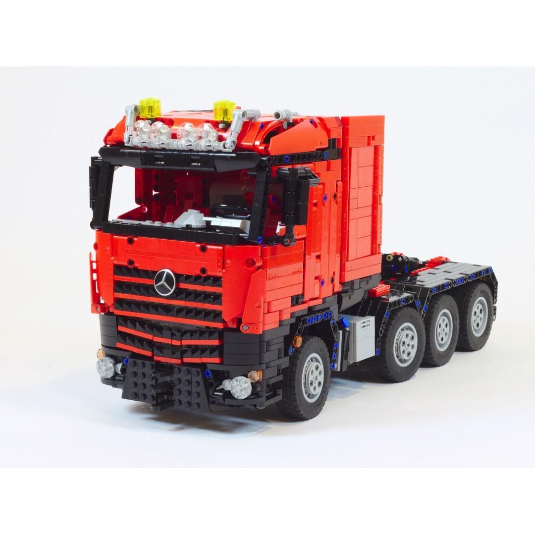 Mercedes Benz Arocs 3245 Arocs Slt Merca Truck Moc 7790 By Custombricks De Lego Mixed Technic Fully Remote Control Rc 2019 Toys Games Bricks Figurines On Carousell