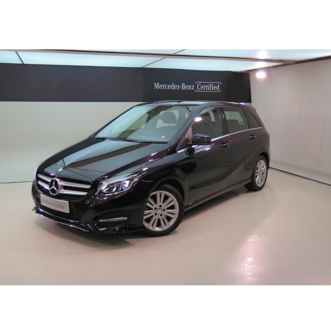 MERCEDES-BENZ B200 Facelift 2015'