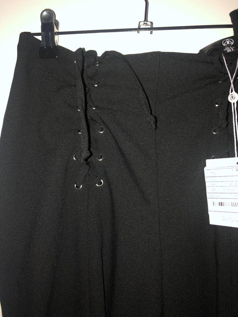 Missguided Corset Cigarette Pants