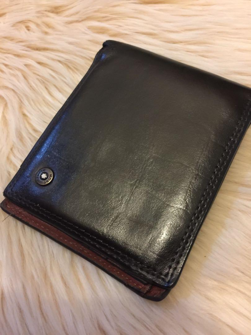 Mont blanc wallet vintage original