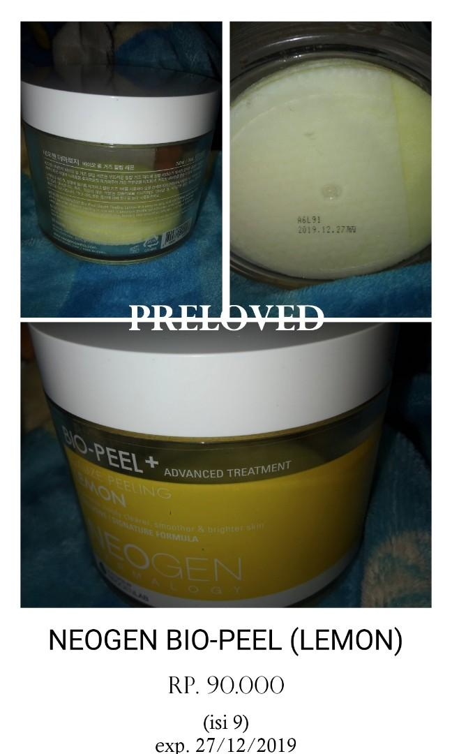 Neogen bio-peel (lemon)