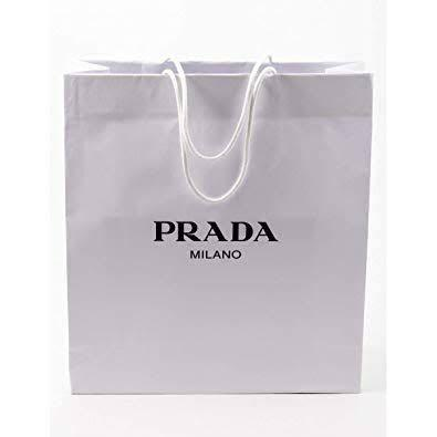 Original Paper bag / shopping bag / tas karton PRADA Ukuran 42x48x16cm