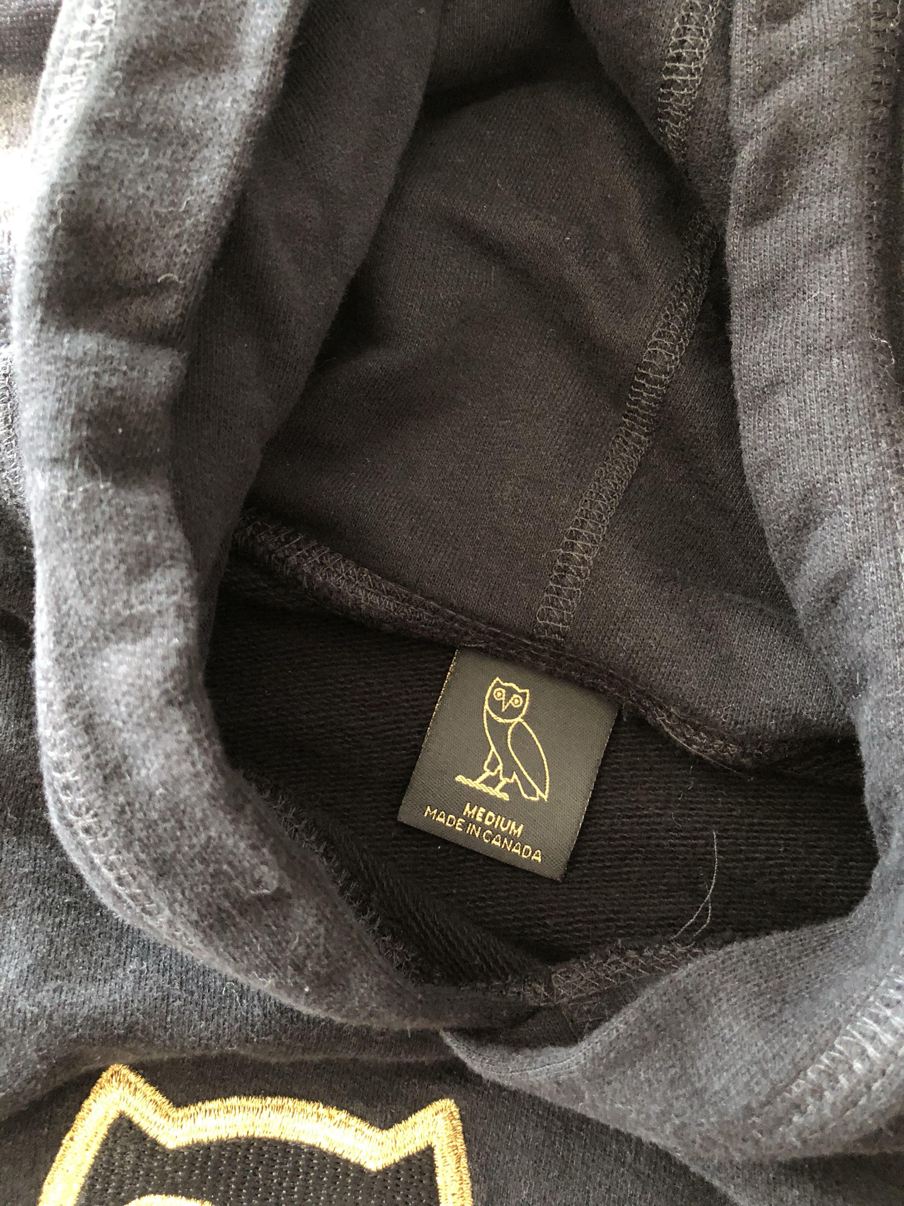 OVO Women's Cropped Hoodie- limited edition (size M)