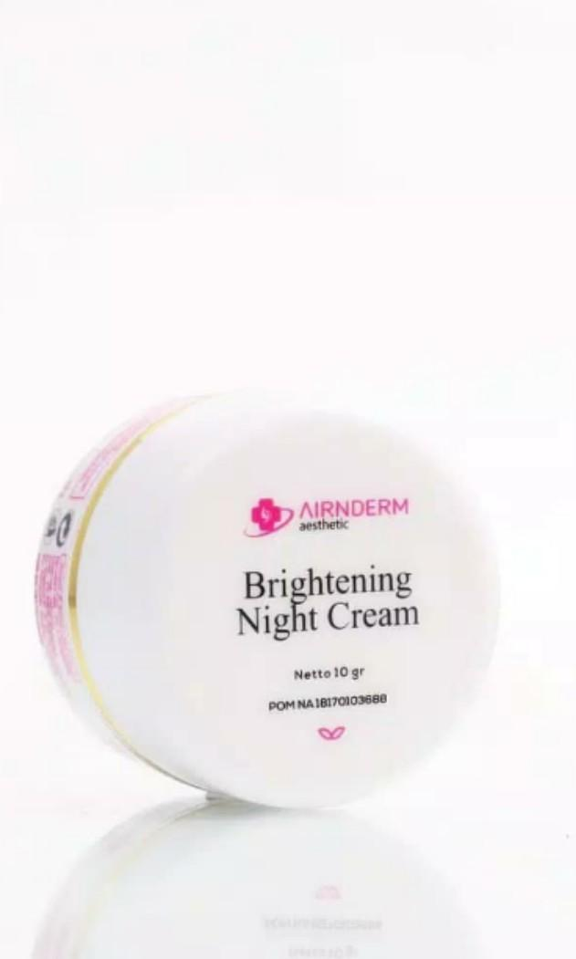 (Preloved) Airnderm Brightening Night Cream