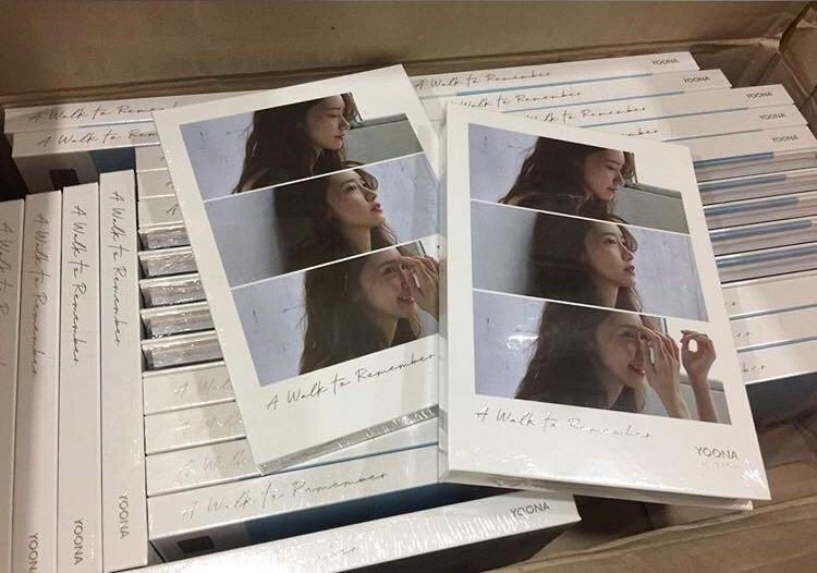 [Preorder] YoonA Special Album - A WALK TO REMEMBER CD + Poster