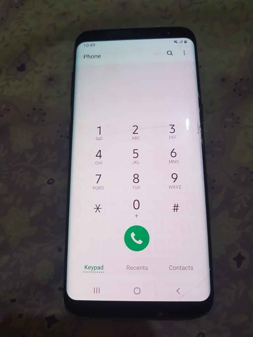 Samsung S8 SM-G950FD SEIN black ada minus