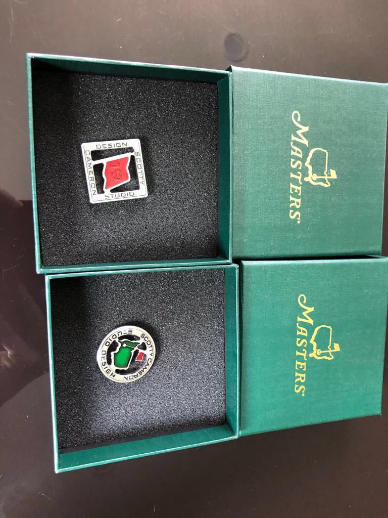 Scotty Cameron 2019 Masters Ball Markers (Limited Edition)