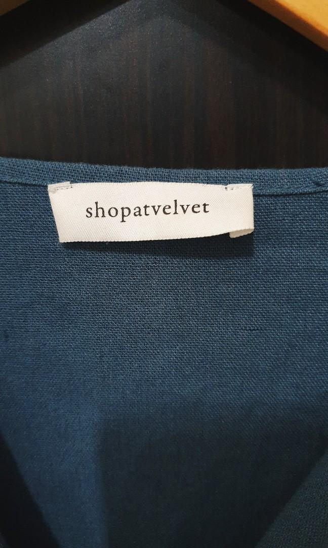 Shopatvelvet LINEN TOP