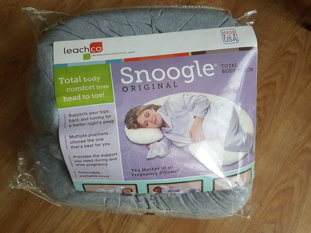 Snoogle Pregnancy Breastfeeding Pillow Babies Kids Maternity On Carousell