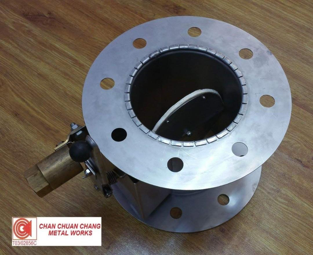 Special Custom Made Round SS316 Round Dampers with Special Handles