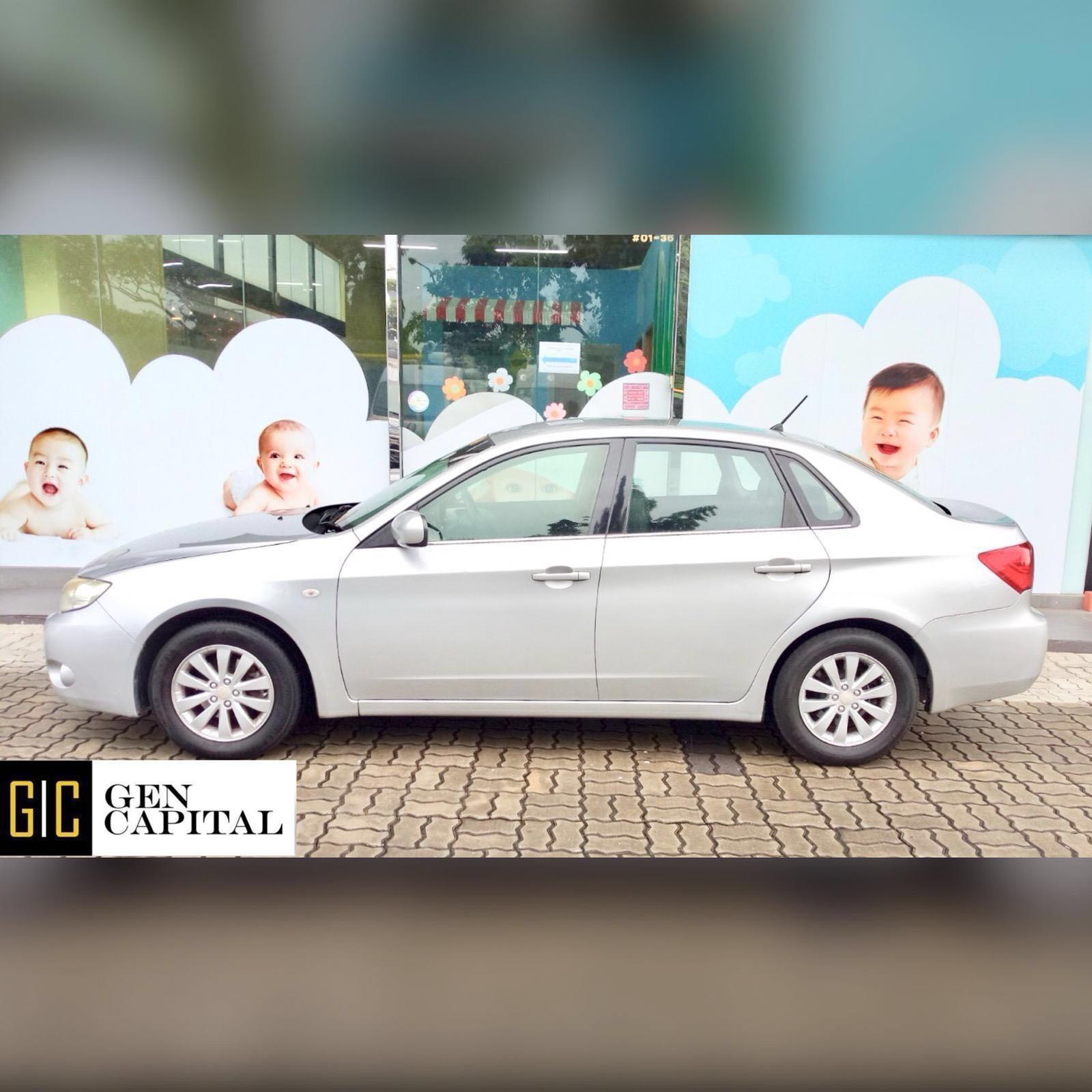 Subaru Impreza 1.5a Sedan Grab Gojek Ryde Tada & Non PHV Car Rental Services in Singapore!